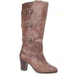 anthropologie matisse boots tall leather triple bu